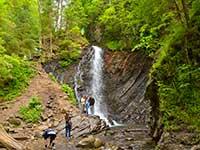 Тур з відвідуванням водоспадів в Карпатах