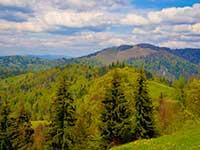Гірські перевали в Карпатах в турах і програмах відпочинку