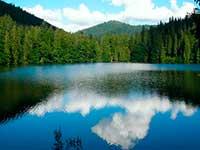 автобусний тур відпочинок в Карпатах і Закарпатті. Озеро Синевир.