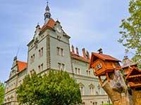 Тур в Закарпаття влітку, навесні і восени. Відпочинок в Карпатах. Замок Шенборна.