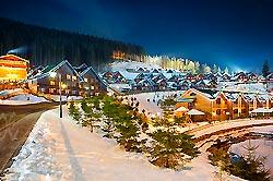Зимовий відпочинок в Карпатах 2018, катання на лижах в Буковелі, екскурсії в Карпатах
