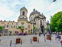 Домініканський собор-один із шедеврів архітектури Львова.